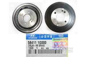 Новые Тормозные барабаны Hyundai i20