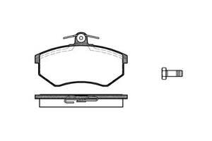 Тормозные колодки, к-кт. VW CORRADO (53I) / VW SCIROCCO (53B) 1978-1997 г.