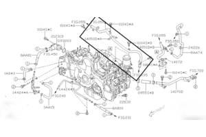 б/в Трубки охолодження Subaru Forester