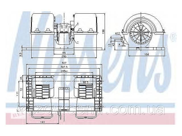 Вентилятор отопителя Volvo FH 12 (93-)- объявление о продаже  в Києві