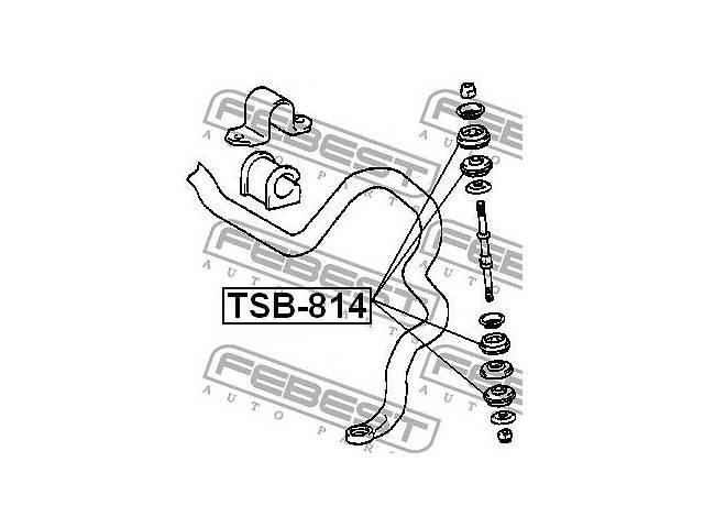 продам Втулка стойки стабилизатора TOYOTA IST (NCP6_) / TOYOTA AYGO (_B1_) 1999-2015 г. бу в Одессе