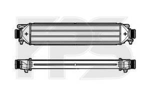 Радиаторы интеркуллера Fiat Doblo