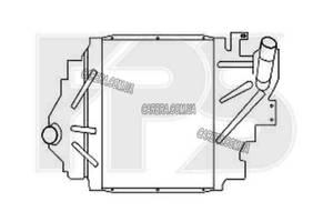Інтеркулер RENAULT SYMBOL I 02-06 (LB0 / 1/2)