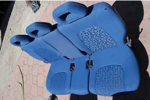 Заднее тройное сидение трансформер 2+1 для Fiat Scudo