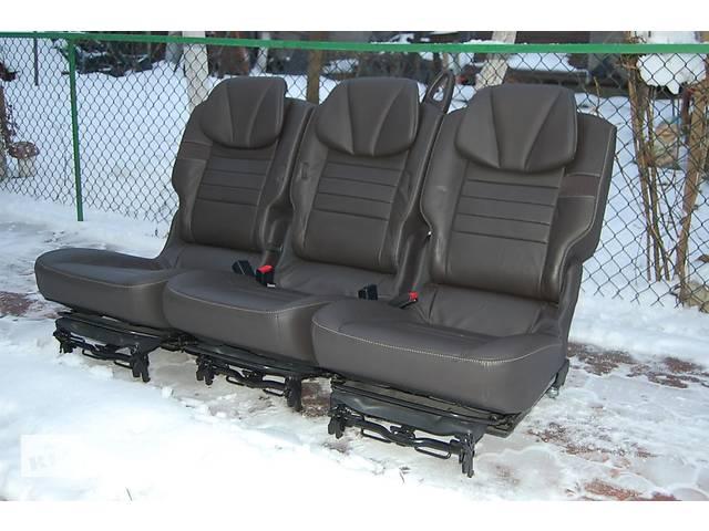 продам Задние кожаные сидения трансформеры для Renault Scenic бу в Любомле