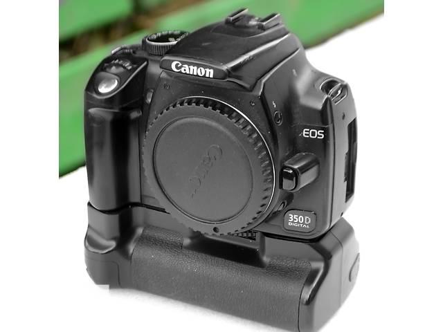 продам Зеркальный Canon EOS 350D, бустер бу в Хмельницком