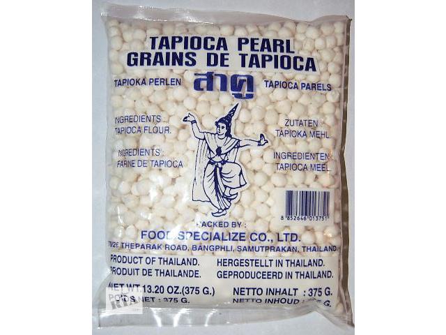 Жемчужины тапиоки (tapioka pearls) крупные, 375 гр- объявление о продаже  в Киеве