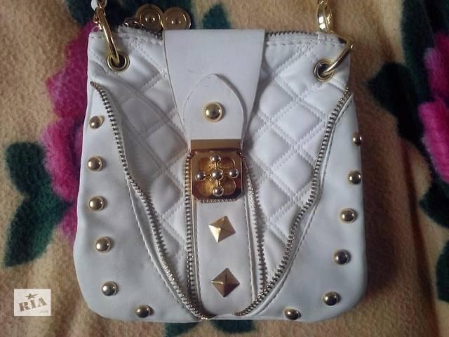 продам Женская сумка белая бу в Одессе