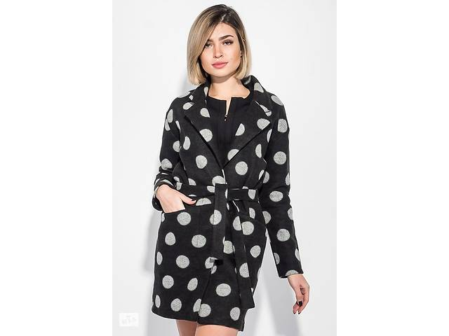 купить бу Пальто женскоев крупный горох 64PD3041-4 в Одессе