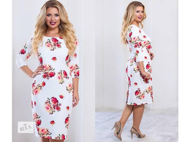 купить бу Женское красивое платье в цветах опт от производителя в Одессе