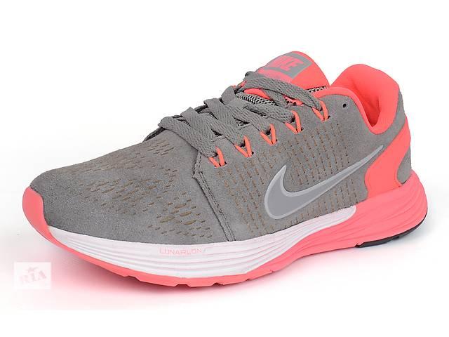 бу Женские кроссовки Nike Lunarglide 7 Running (Pink & Grey) в Харькове