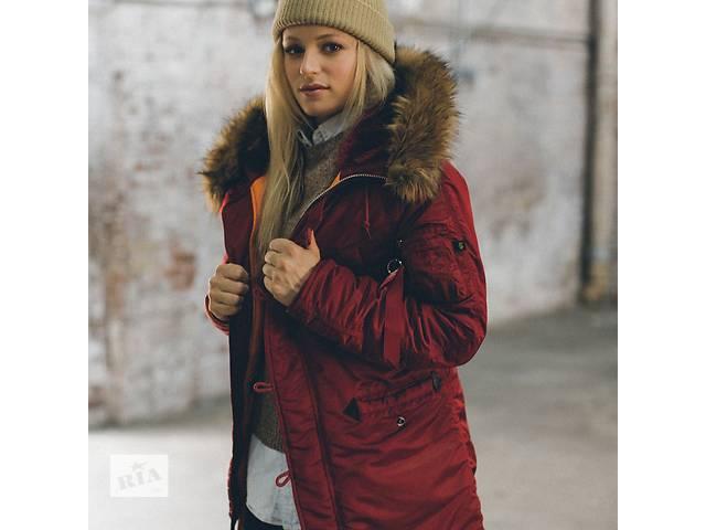 Женская зимняя куртка аляска N-3B W Parka Alpha Industries 1a409a283350e