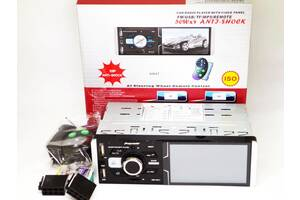 "Автомагнитола Pioneer 4064T ISO  - Сенсорный экран 4,1""+ RGB подсветка + DIVX + MP3 + USB + SD + Bluetooth + AV-in"