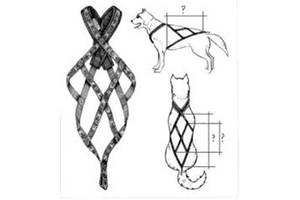 Їздова шлейка (шлея) для собак