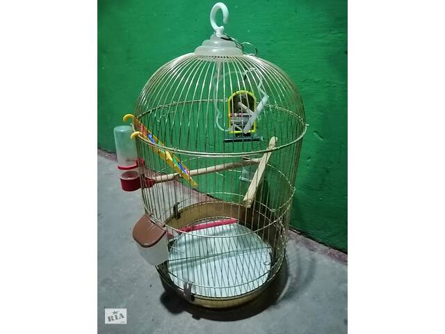 Клітка для попугая- объявление о продаже  в Виннице
