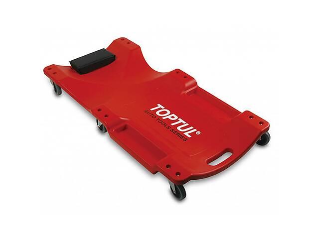 Лежак автослесаря подкатной пластиковый TOPTUL 1020x480x115 мм JCM-0300- объявление о продаже  в Львове