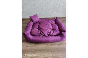 Лежак для собак и кошек 80×65×16