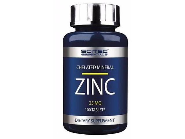 купить бу Минерал Scitec Nutrition Zinc, 100 таб (104560) в Полтаве