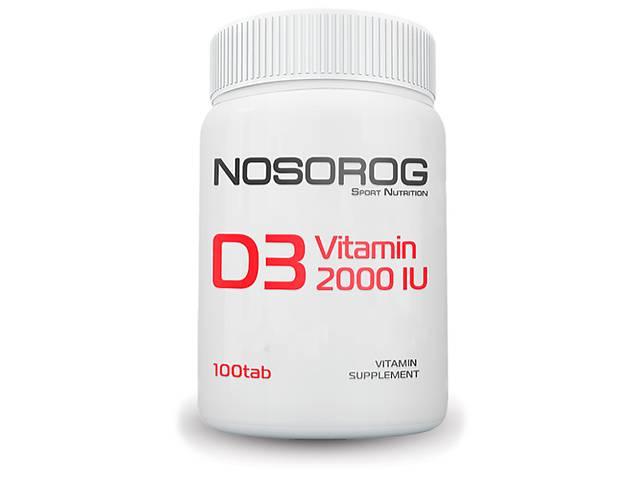 купить бу Nosorog Vitamin D3 2000 IU, 100 таб в Мариуполе