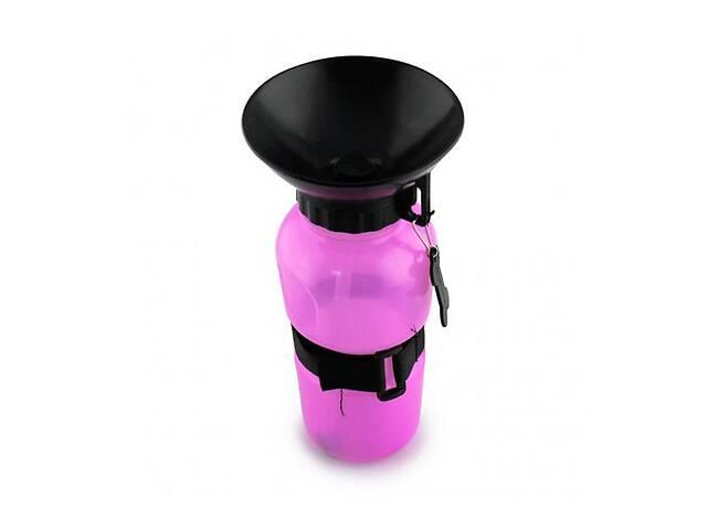 Поїлка для собак переносна пластикова Dog Water Bottle 7363 Рожева (gr_015000)- объявление о продаже  в Києві