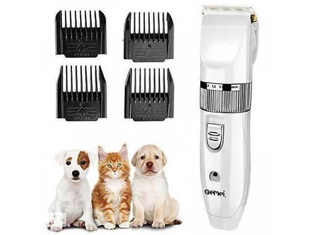 продам Профессиональная мощная машинка для стрижки животных Gemei GM 634 триммер для собак котов бу в Харькове