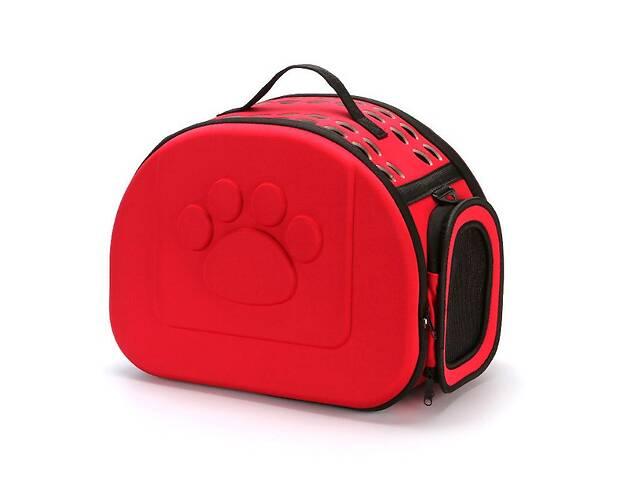 бу Сумка переноска Happy Paw для домашних животных Красный ( код: IBH005R ) в Києві