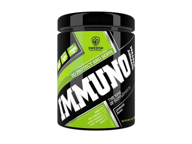 купить бу Swedish supplements - Immuno Support System - 400g lemonade в Дубні