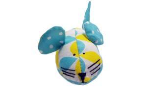 Игрушка мягкая для котика мышка ручной работы
