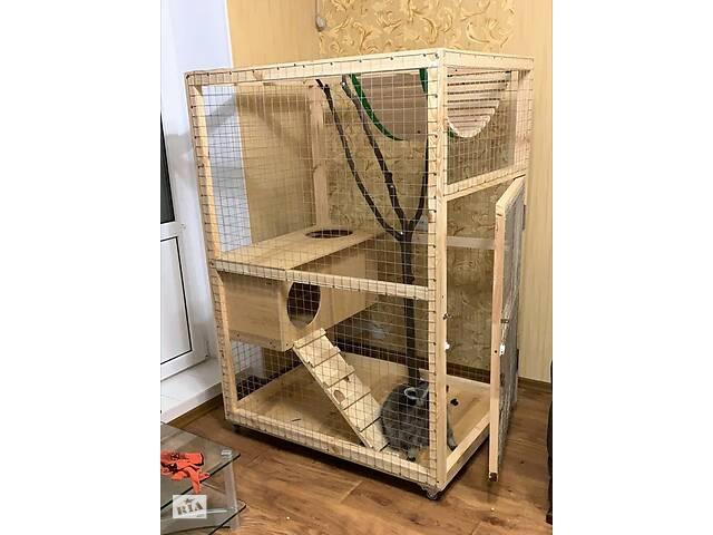 купить бу Изготовление продажа клетка вольер для енот шиншила, папугаев и других животных в Буче