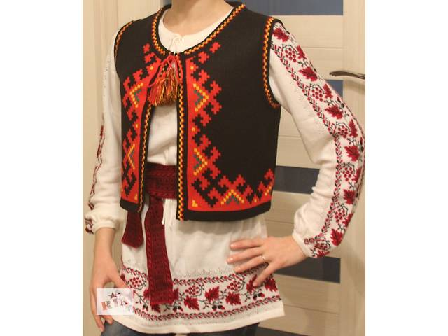 купить бу Жилет для украинской вышиванки в Киеве