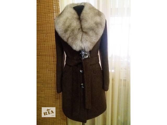 Зимнее пальто с натуральным мехом- объявление о продаже  в Николаеве