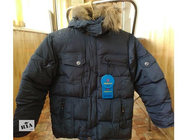 купить бу Зимняя очень теплая фирменная куртка на мальчика. 8, 9, 10, 11 лет в Мариуполе (Донецкой обл.)