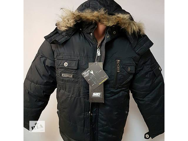 купить бу Зимняя теплая куртка на мальчика 10, 11, 12, 13 лет. в Мариуполе (Донецкой обл.)
