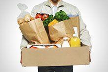 Доставка обедов, еды и воды