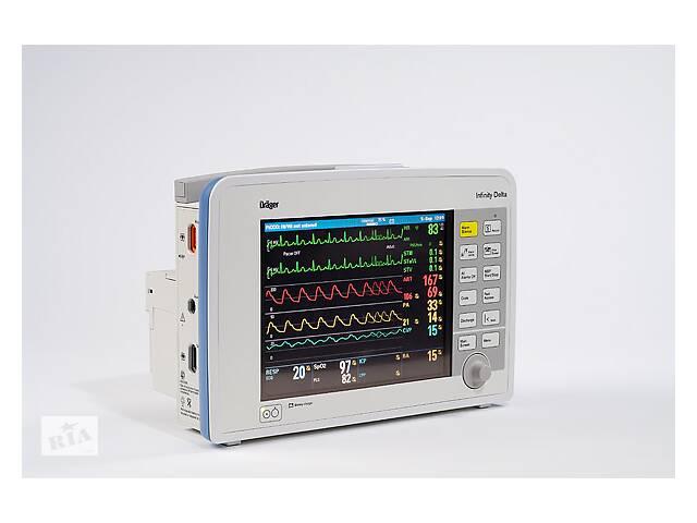 ПРОДАМ универсальный модульный монитор пациента Drager (Draeger) Infinity Delta/Дрeгер Инфинити Дельта. - объявление о продаже
