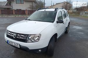 Dacia Duster ridnafarba 2016